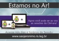 Câmara de Vereadores lança o canal TV ao vivo