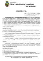 Carta Convite Empresa de Serviços de limpeza