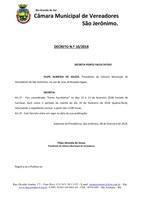 Decreto nº 10/2018