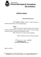 Decreto nº 24/2018