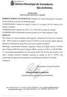 Despacho Licitação Convite Nº01/2019