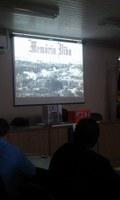 Está acontecendo neste instante a exposição e palestra sobre a riquezas que nossa cidade teve e ainda tem!!!!