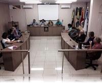 Reunião na Câmara de Vereadores sobre a SAMU - Serviço de Atendimento Móvel de Urgência.