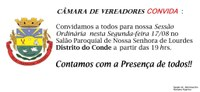 Sessão no Interior de São Jerônimo no Porto do Conde