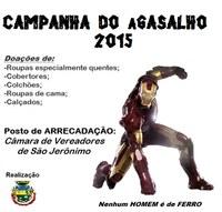 ULTIMO  DIA DE CAMPANHA DO AGASALHO
