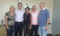 Visita dos Vereadores a 12° Coordenadoria de Educação de Guaíba